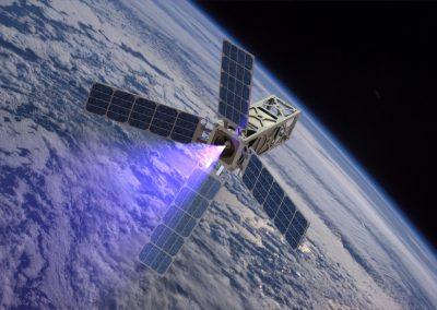 CubeSat Ambipolar Thruster (CAT)